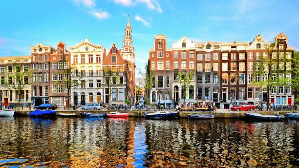 Amsterdamse grachten.