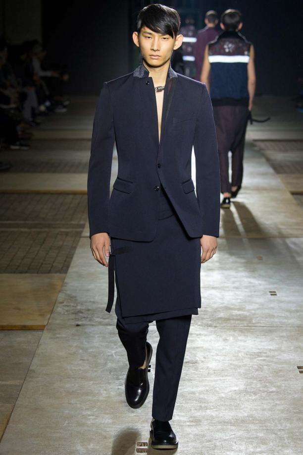 Dries van Noten Fall 2015 Menswear, ©Style.com