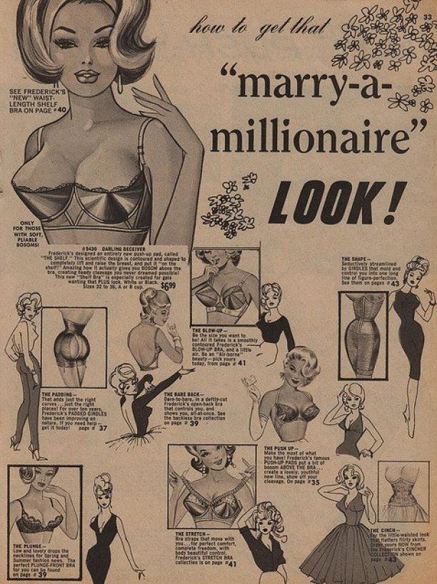 "How to get that ""marry-a-millionaire"" LOOK!, ca. 1950."
