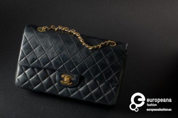 Goede Chanel 2.55 - Zwart leren handtas   Modemuze EM-77