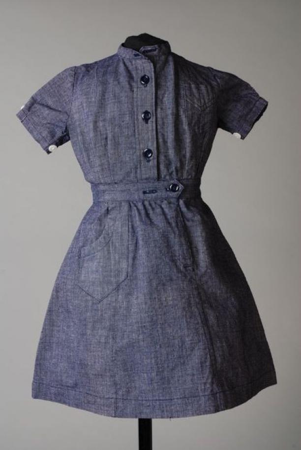 Blauwe jurk c&a