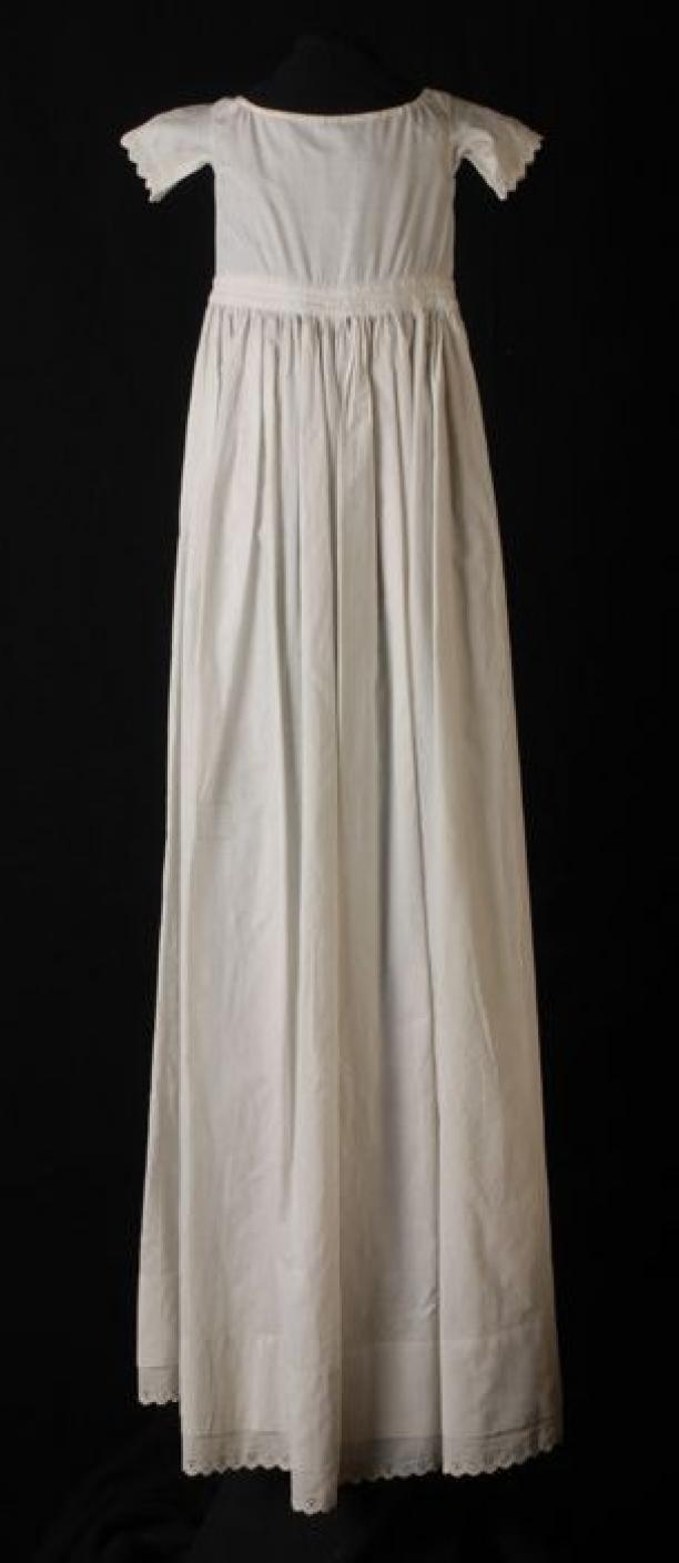 witte broderie jurk