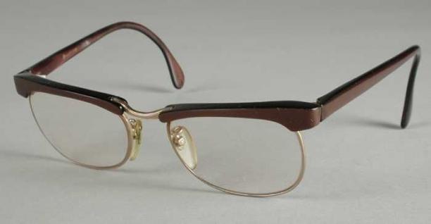 37272fe4e6c49f Bril met afgeronde rechthoekige glazen op sterkte