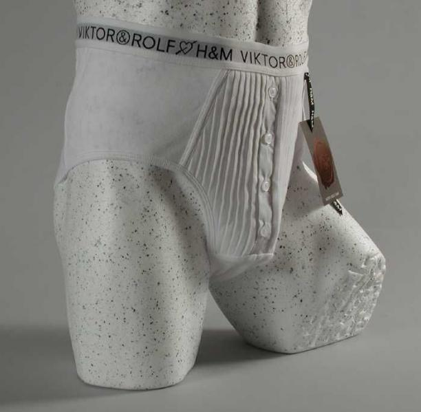 Boxershort van Viktor&Rolf voor H&M - collectie Museum Rotterdam