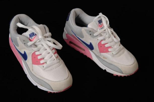 nike air max roze grijs blauw