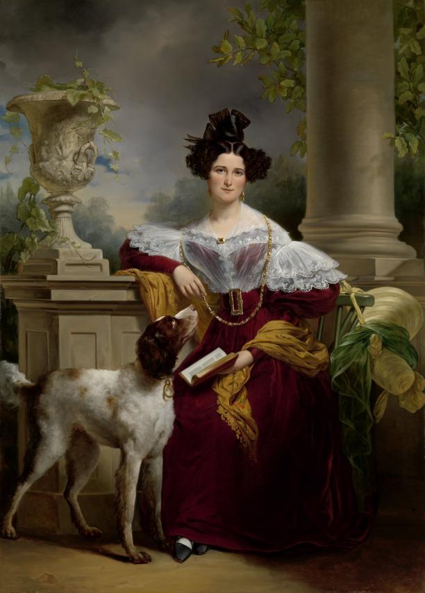 Portret van Alida Christina Assink, Jan Adam Kruseman, 1833, collectie Rijksmuseum.