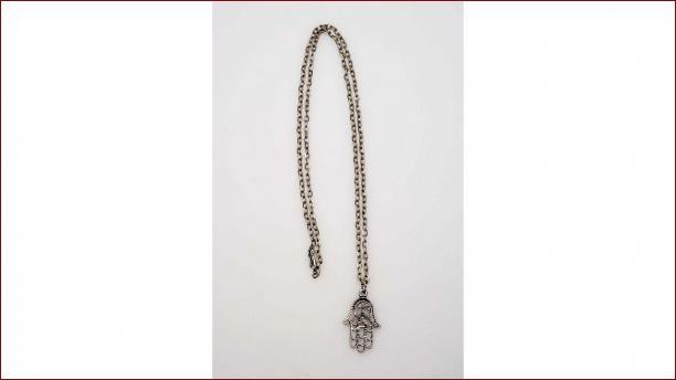 Betekenis Fatima Handje.Metalen Halsketting Met Hand Van Fatima Modemuze