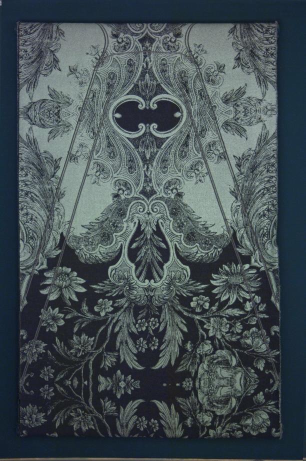 Stof voor couturecollectie 'Irradiance' van Jan Taminiau, 2011 (aankoop 2010), collectie TextielMuseum Tilburg.