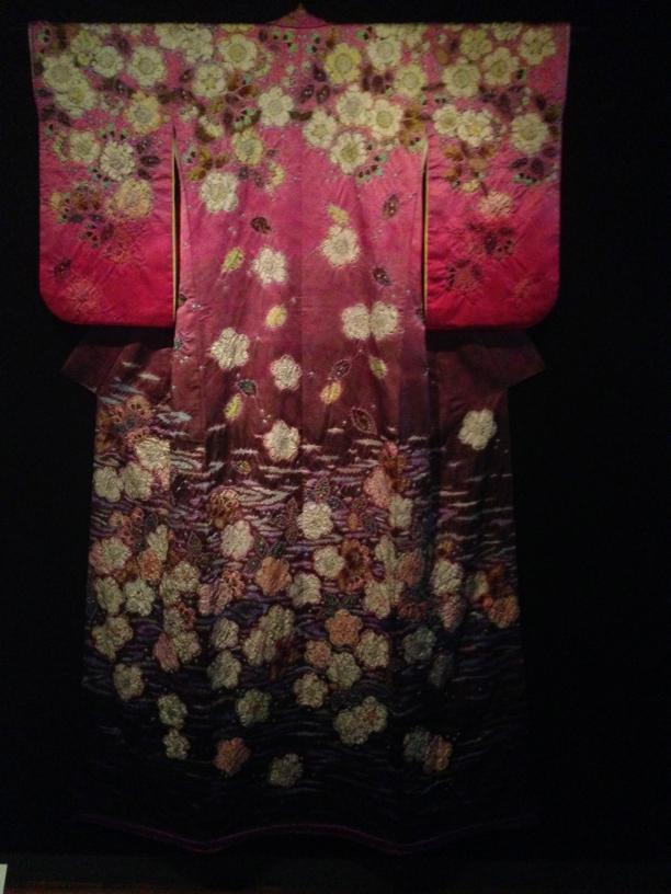 Itchiku Kuboto, kimono 'Kersenbloesem'