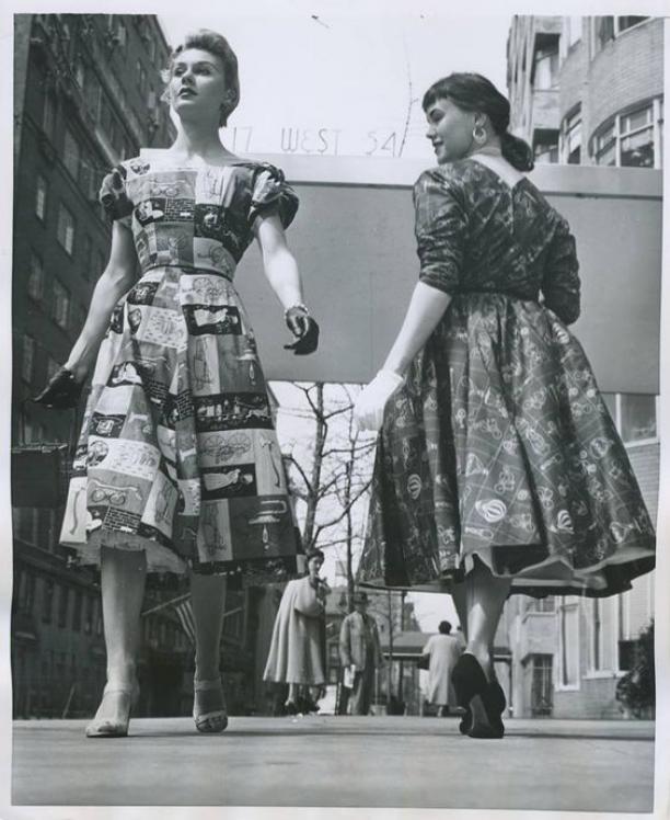 Geliefde Novelty prints in de jaren '50 | Modemuze &LY58