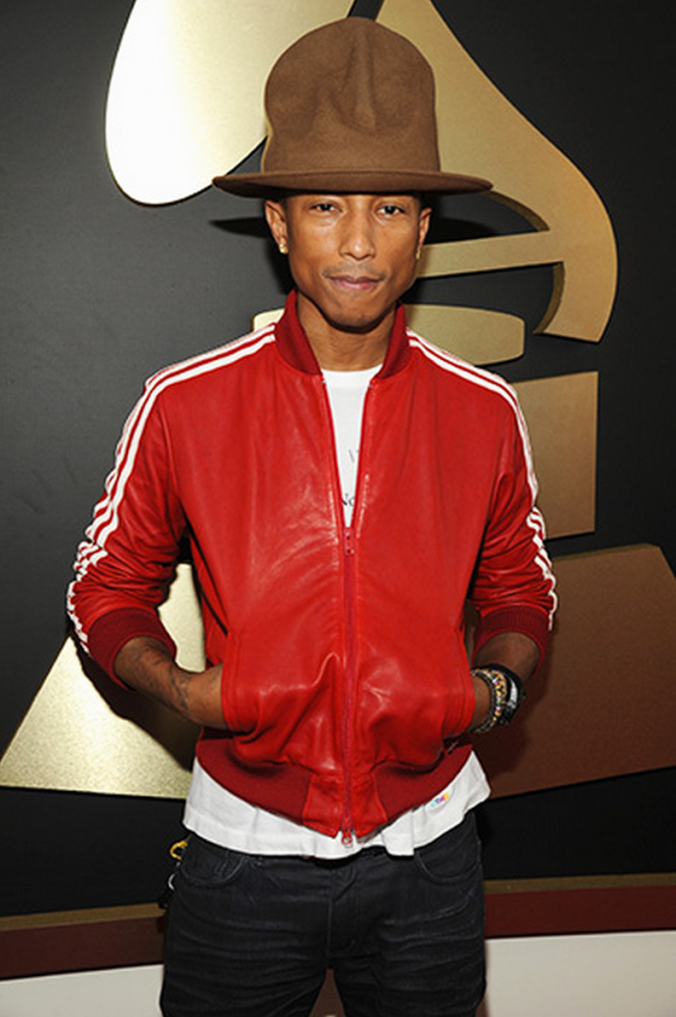 Pharrell Williams, 57th Annual Grammy Awards, 2014