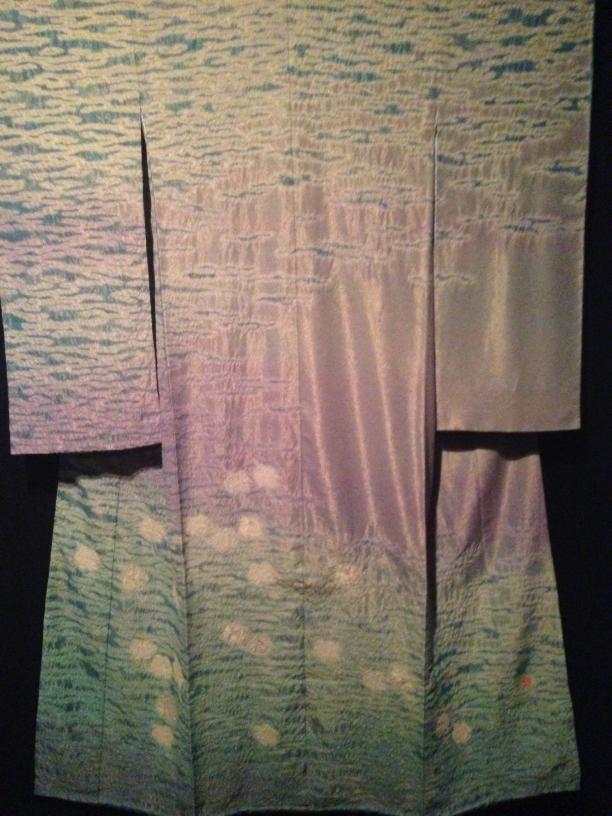 Itchiku Kuboto, kimono 'Wind op de Golven'