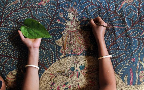 Textiel Factorij Meet the Maker Indiase ambacht