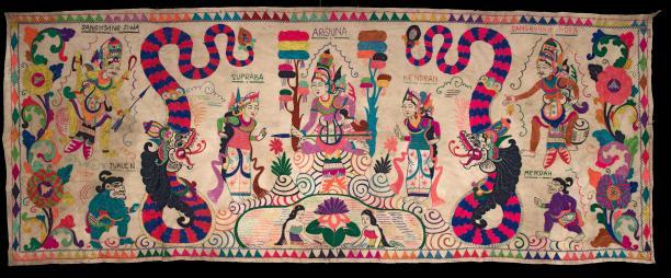 Afb. 12: Tabing, ca. 1970. Collectie Nationaal Museum van Wereldculturen, 7149-1. Fotograaf: Irene de Groot
