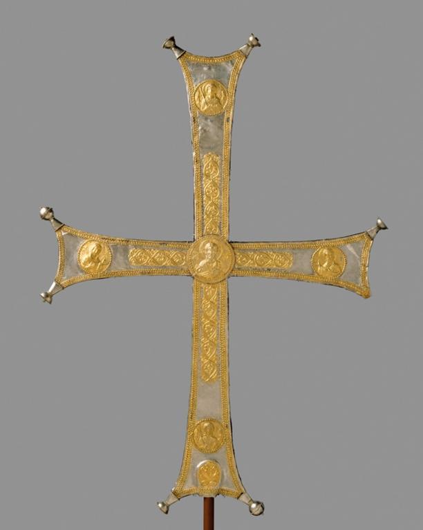 Processiekruis, ca. 1000-1500, collectie Metropolitan Museum of Art.