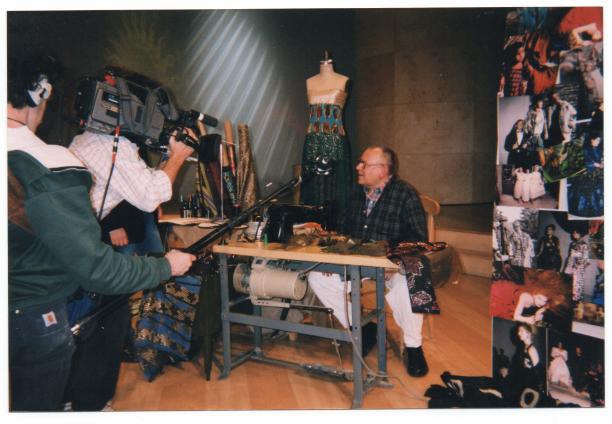 Afb. 2. De eerste show 'Koos of Course!', 1998.
