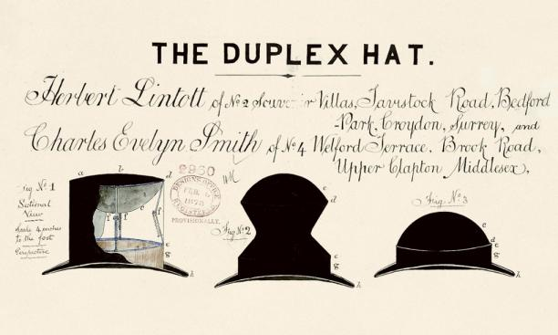 The Duplex Hat, 1878.