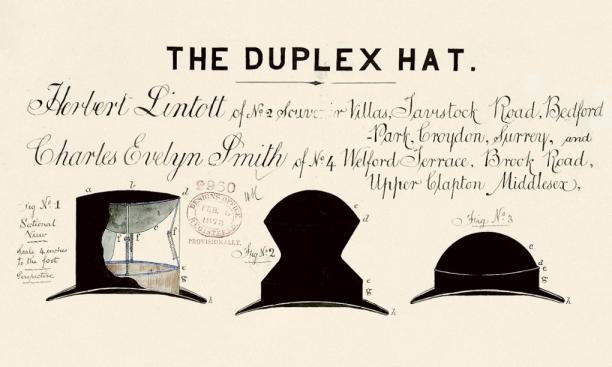 The Duplex Hat, 1878.