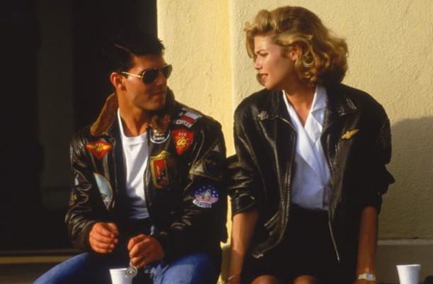 Leren jasje, jaren '80