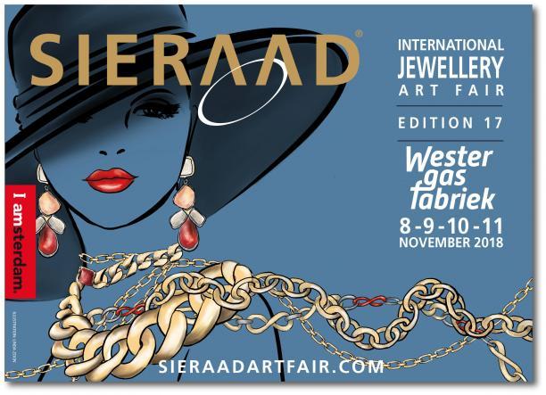 Banner Sieraad Art Fair 2018.