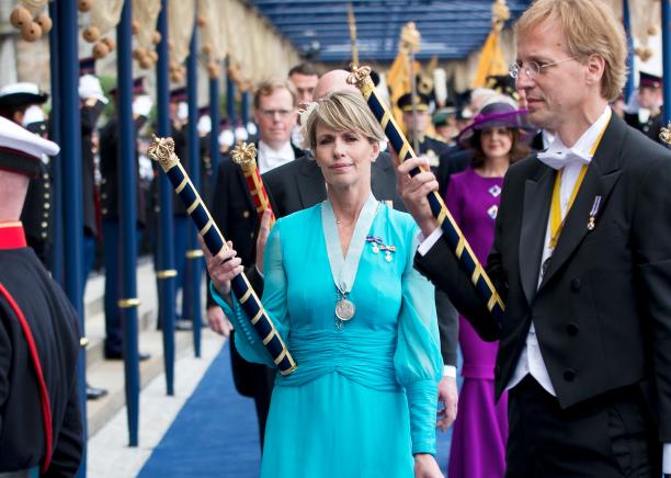 Foto van inhuldiging koning Willem-Alexander.