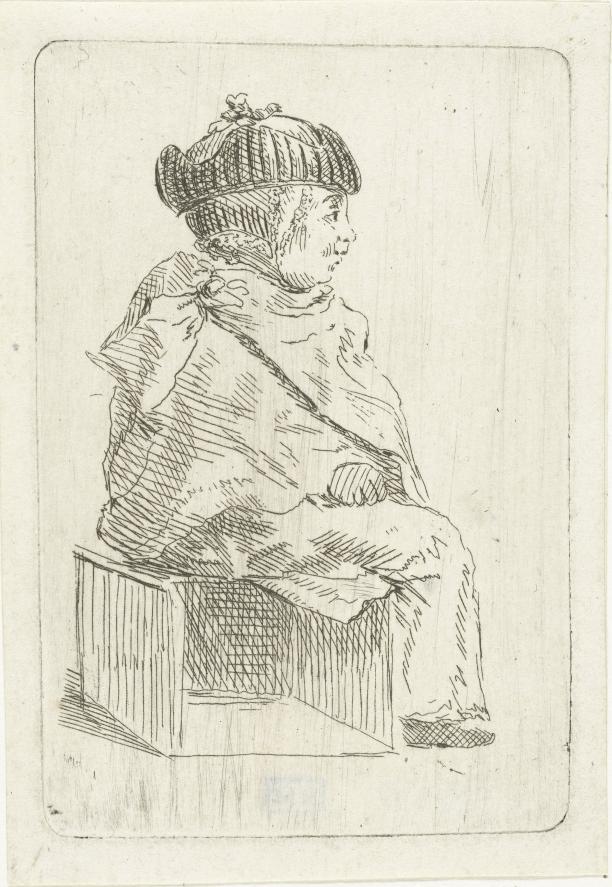 Louis Bernard Coclers, Kind met valhoed, 1756-1817, Rijksmuseum  Amsterdam