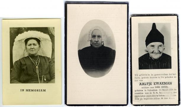 Afbeelding 2 Johanna Stolker, Maria Anna van den Akker en Aaltje Kwakman, collectie Nederlands Openluchtmuseum.
