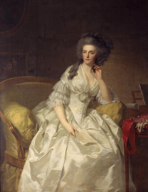 Afb. 4. J.F.A. Tischbein, Wilhelmina van Pruisen, 1788, Koninklijke Verzamelingen, Den Haag.