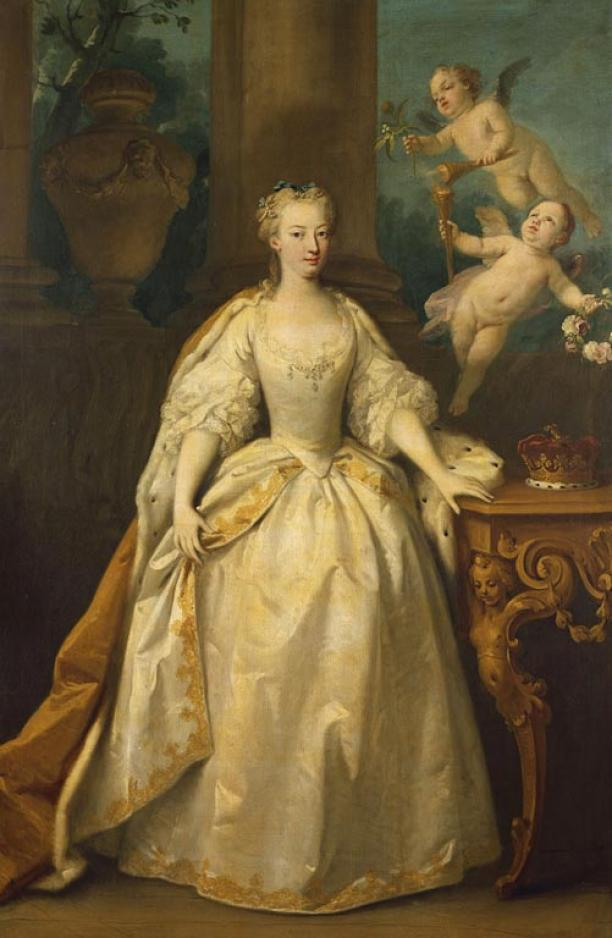 Afb. 4: Portret Anna van Hannover, Jacopo amigoni, circa 1734. British Royal Collections.