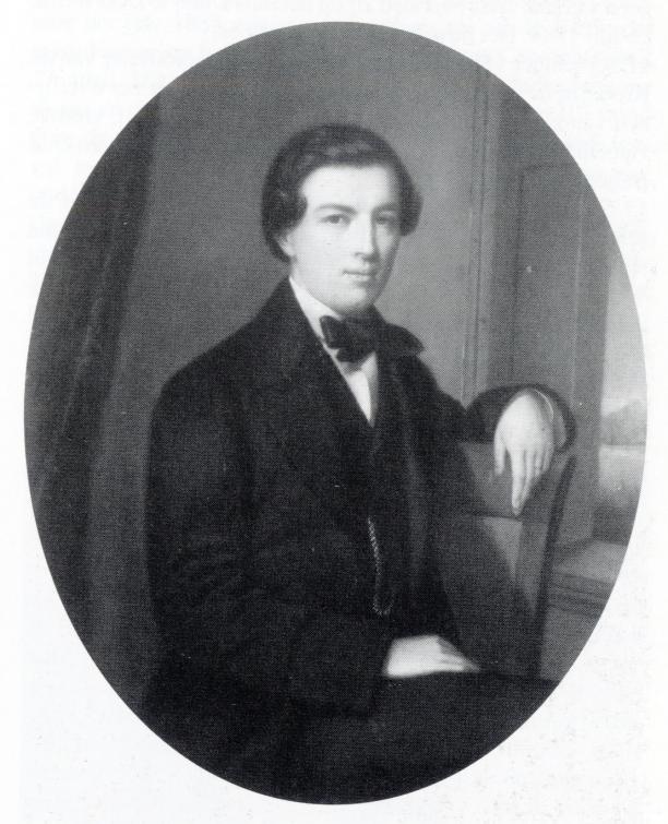 J.W. baron van Pallandt van Oud-Beijerland (1835-1907). Pastel H. Siebert, 1857.