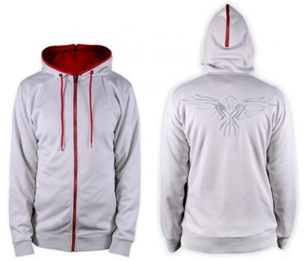 voor- en achteraanzicht van de hoodie