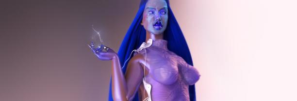 Anouk Wipprecht, Drinkbot Dress, 2016.