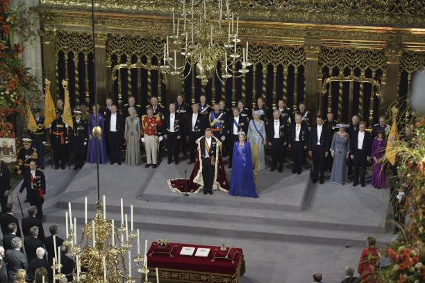 De inhuldiging van Koning Willem-Alexander in 2013. Foto: ANP.