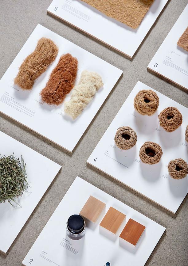Agenda Modemuze tentoonstelling Earth Matters TextielMuseum Tilburg 2017. TAMARA ORJOLA, Forest Wool, foto Design Academy Eindhoven, Ronald Smits