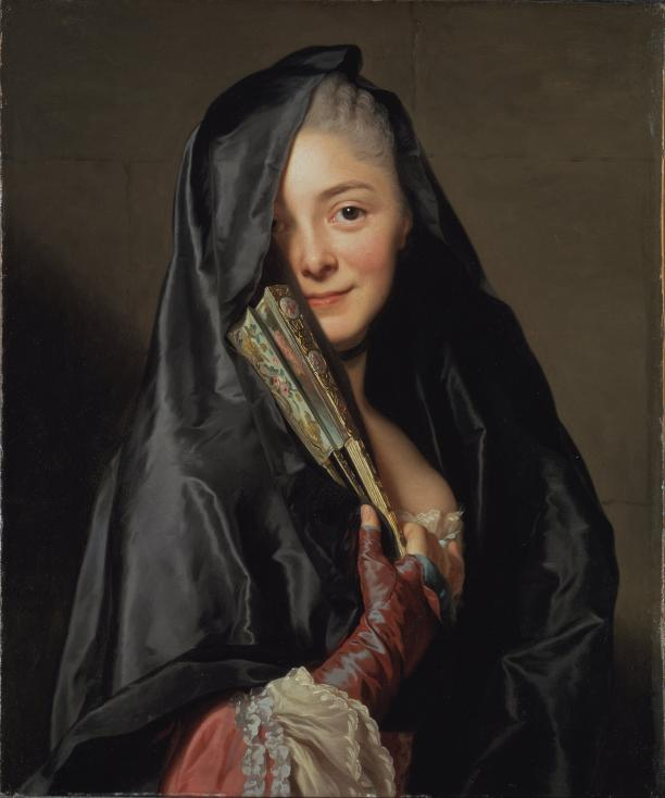 Alexander Roslin, The Lady with the Veil, 1768, collectie Nationalmuseum Stockholm.