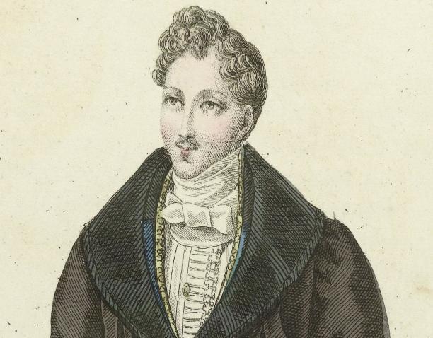Journal des Dames et des Modes, Costumes Parisiens, 1830, collectie Rijksmuseum.