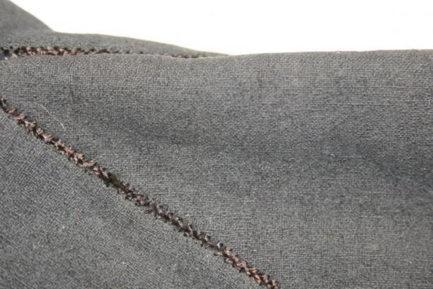 detail wambuis: schoot