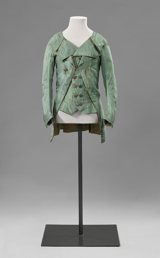 Afb.2 Jongensjasje met vest, ca. 1790-1800, collectie Rijksmuseum Amsterdam.