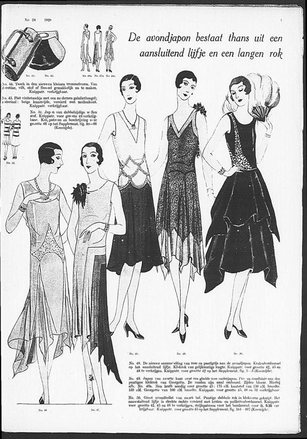 Pagina uit 'De Gracieuse, geïllustreerde Aglaja', 15 december 1928.