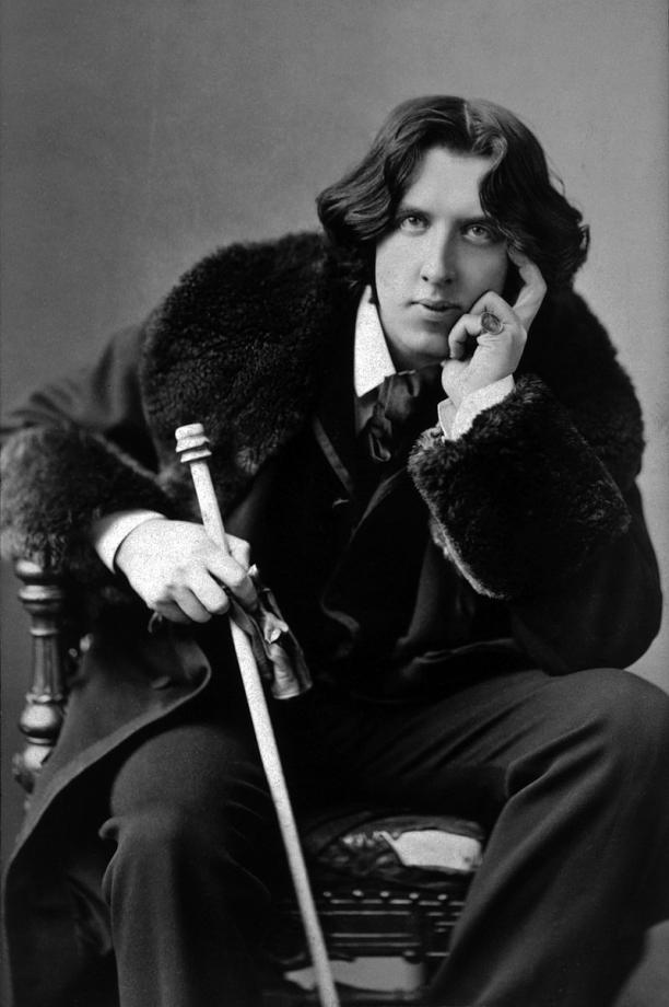 Modemuze blog Christophe van Eecke Hoe queer is de dandy: Oscar Wilde als rockster