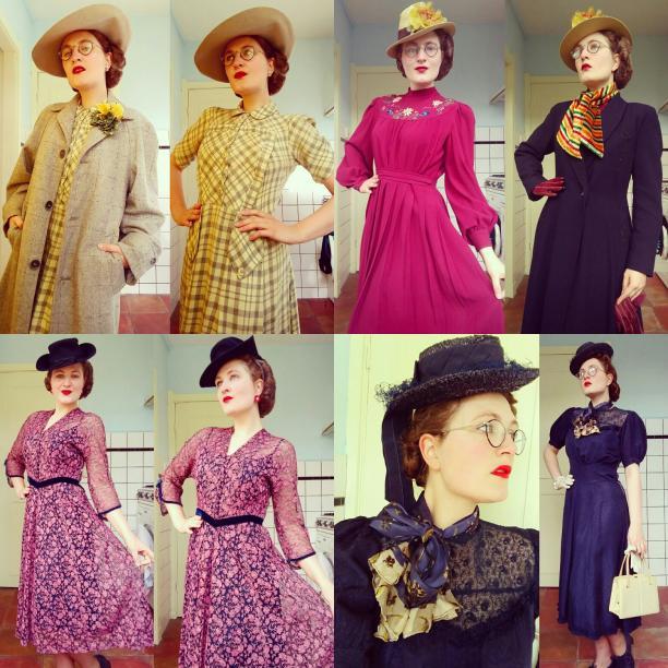 Blog Modemuze. Vintage en de stijl van vroeger. Afb. 5 Lente - frisse kleuren