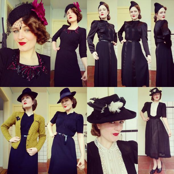 Blog Modemuze. Vintage en de stijl van vroeger. Afb. 6 Winter -Gedempt palet