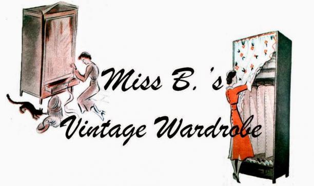 Blog Modemuze door Birthe Weijkamp. Vintage Hoe herken je kleren uit de jaren 20-60. Banner voor Miss Bs Vintage Wardrobe