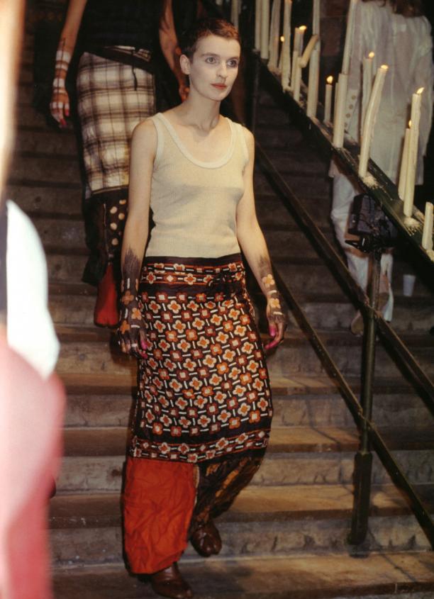 Blog Modemuze Nora Veerman, Reconstructing Hermès. Métiers, materiaal, Martin Margiela. #2 SS92, Barbara Katz