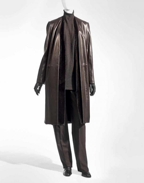 Blog Modemuze Nora Veerman, Reconstructing Hermès. Métiers, materiaal, Martin Margiela #3 Hermès FW02-03, Nertsbont Hertenleder, Stany Dederen