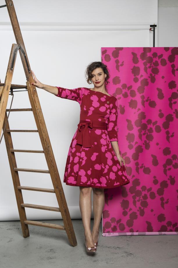Blog Modemuze Sterre Snijders Masterly Ontwerp 'Calla' door Michael Barnaart geïnspireerd door het schilderij van Hendrick Schoock, 2018, foto: Julie Vielvoije