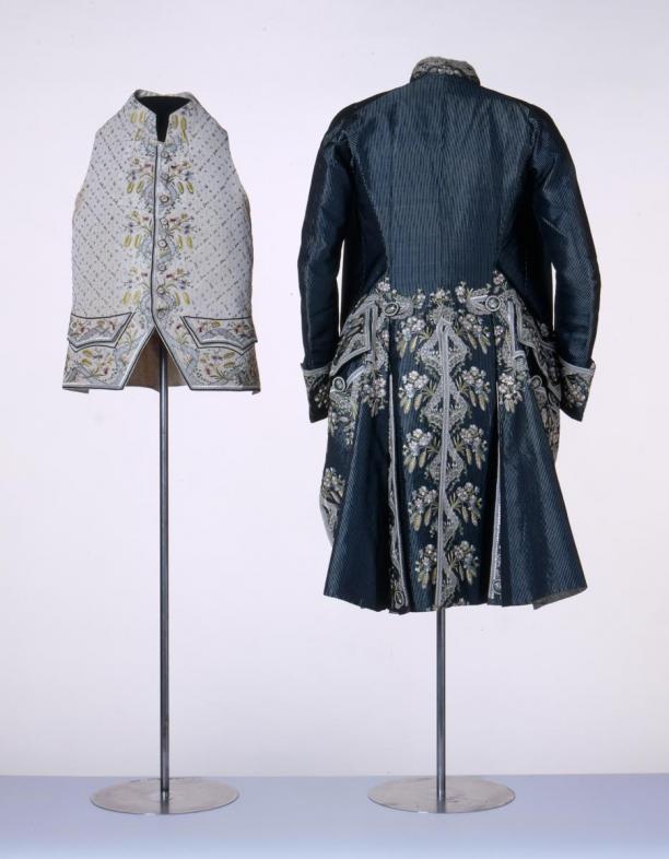 Modemuze blog Anneke Smelik kleding en homosexualiteit Heren galajas en -vest, ca. 1790, Centraal Museum Utrecht