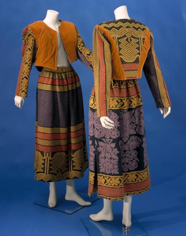 Max Heymans, tweedeling damesensemble bestaande uit jasje en rok, 1980, Centraal Museum Utrecht
