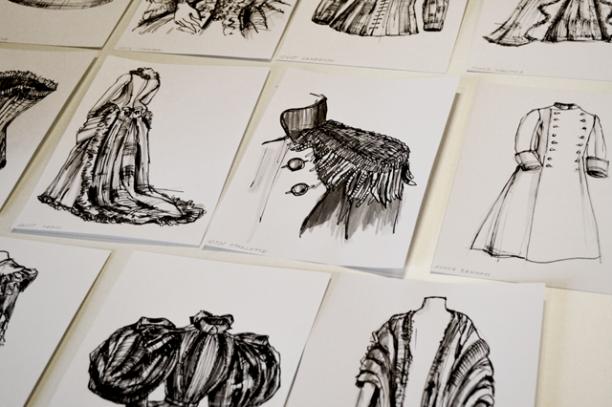 David Ring maakte illustraties bij meer dan 600 modetermen. Ze zijn vindbaar op Wikimedia Commons.