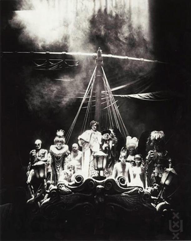 Spelfoto Der fliegende Holländer, de Nederlandse Operastichting 1979. Fotografie: Jaap Pieper.